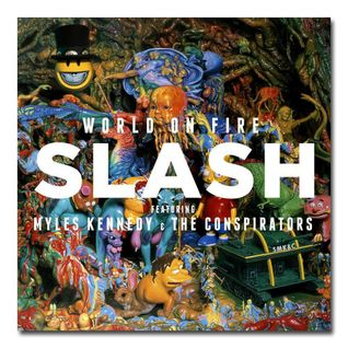 Slash talking about his new album World On Fire