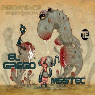 El Grego @ Fnoob Techno Radio - Insomniacs Freakshow