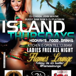 DJ Chigga - Island Thursdays @ Flames 9.5.13 (part 1)