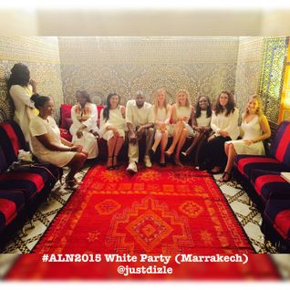 #ALN2015 White Party (Marrakech)