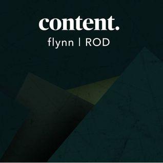 FLYNN @ Content Arcade w/ ROD 31.10.2015