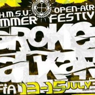 Darko Stepic b2b HyperTech @ Broken Balkanz Festival, Sofia - 14.07.2012