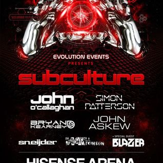 John O'Callaghan LIVE from Melbourne SubcultureAus 2015