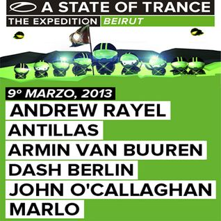 John O'Callaghan - Live at A State of Trance 600 (Beirut, Lebanon) - 09.03.2013