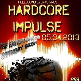 Badazz Warraw with Mc M-Core and Mc Mo@Hardcore Impulse 05.04.2013
