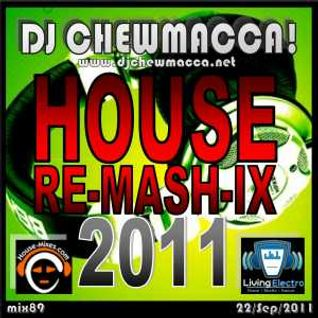 DJ Chewmacca! - mix089 - RE-MASH-IX 2011