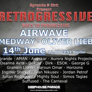 Ingmar Sterkel Guestmix - Retrogressiv 24 hours Event 2014 by Agrande & Dirk on Deephouseparade