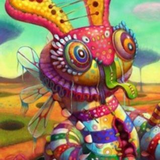 Psychedelic Bunnies In Space