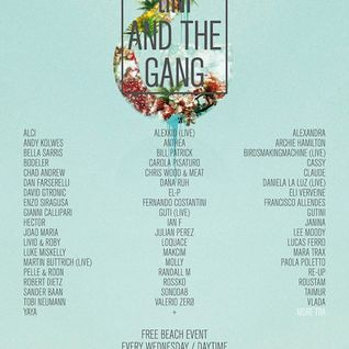Enzo Siragusa @ tINI & The Gang Opening Party Ibiza (25.06.2014)