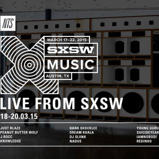 Peanut Butter Wolf: NTS X SXSW - 20th March 2015