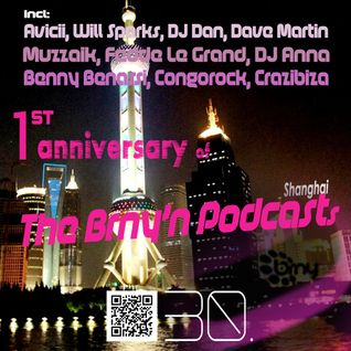 BRNY - The Brny'n [Burning] Podcast #30 -  1st Anniversary edition - Shanghai