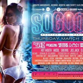 Skymate Live @ SoGood Rooftop Pool Party at CLUB50 Miami (Official WMC Event ll Mixmag) 27.3.2014