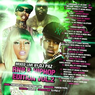 DJ PAZ RNB & HIP HOP VOL.2