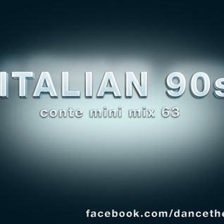 Italian 90s - Conte mini mix 63 - eurodance - italodance