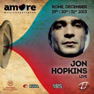 Jon Hopkins (liveRec) @ Amore Music Experience 31.12.013