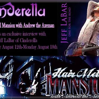 Hair Metal Mansion Radio Show #409 w/Jeff LaBar of CINDERELLA