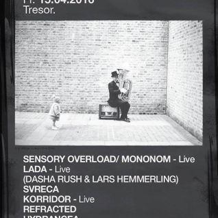 Phone @ Tresor All You Need Is Ears By FullPanda (15.4.16)