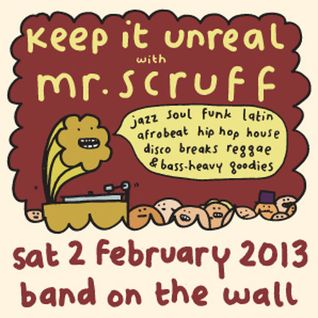 Mr Scruff DJ Mix from Band on the Wall, Manchester, Sat 2nd Feb 2013