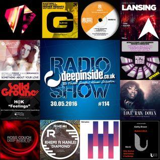 DEEPINSIDE RADIO SHOW 114 (Antonello Ferrari Artist of the week)