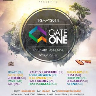 DJ ZokiPoki - Gate One Open Air Festival (1May2014)