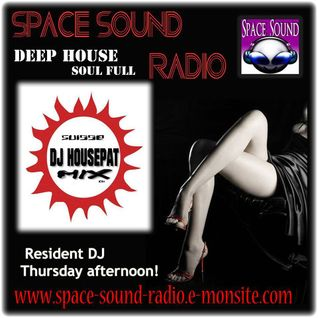 DJ HOUSEPAT ( Set Radio Space Sound Radio ) 13.06.14