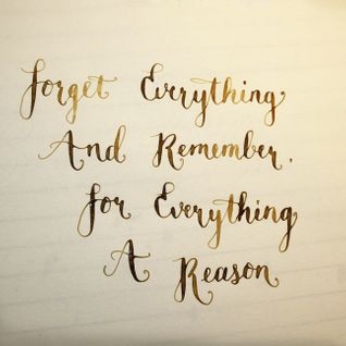 For Everything A Reason...