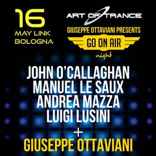 Giuseppe Ottaviani - Live @ Go On Air Night, Link (Bologna, Italy) - 16.05.2015