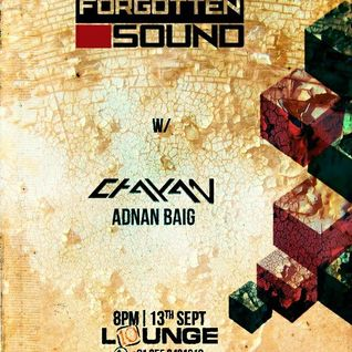 Forgotten Sound w/ Chayan Roy at 10 Lounge, Hyderabad