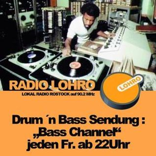 Basschannel 28.09.12 - DnB Live Session - Lohro - DJ Mood (Open Mind Kru)