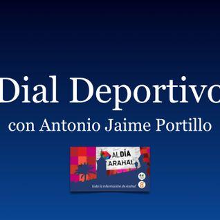 Dial Deportivo con Antonio Jaime Portillo del viernes 11 de marzo 2016.
