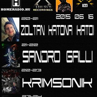 Luminar Records Exclusive Resident Radio Show w/Sandro Galli Live@Homeradio,Budapest 16 June 2015