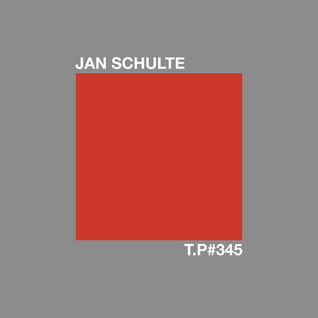 Test Pressing 345 / Jan Schulte