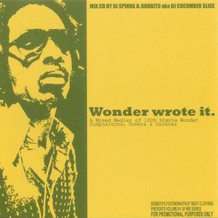 DJ Spinna Wonder Wrote It Vol. 1