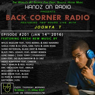 BACK CORNER RADIO: Episode #201 (Jan 14th 2016)