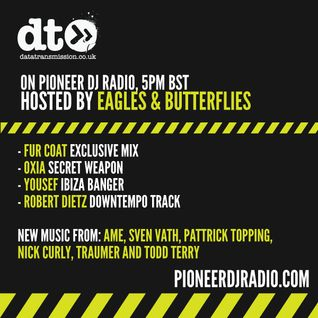 Data Transmission Radio Show 029 - Hosted by Eagles & Butterflies