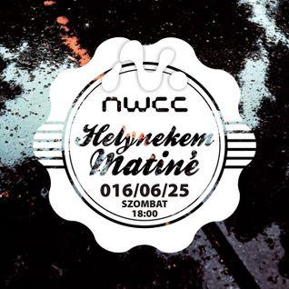 TheSokolRadio Live @ Helynekem Matiné, NWCC Miskolc 2016-06-25