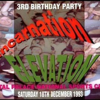 Jumpin Jack Frost & Pooch w/ Stevie Hyper D & MC MC - Elevation 3rd Birthday - 18.12.93