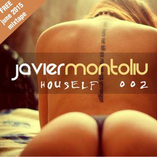 Javier Montoliu - Houself #02 (Mixtape Tech House June 2015)