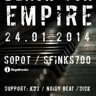 KD3 - Live @ Sfinks700 with Black Sun Empire (24.01.2014)