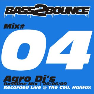 Pete Monsoon aka Agro Dj's - Bass2Bounce @ The Cell, Halifax Vol. 04 (June 2009)
