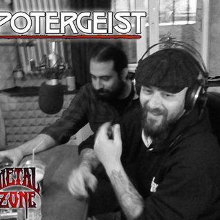 Potergeist @ Jester's Dance Radioshow on Metalzone.gr (28-04-2015)