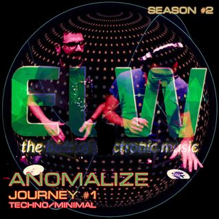 ANOMALIZE - ELECTROWAVES JOURNEY # 1 @RADIO TSUNAMI - 23.09.2016