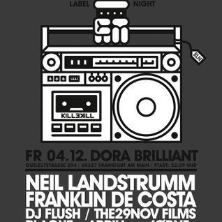 Franklin De Costa @ Killekill Labelnight Dora Brilliant 04.12.2015