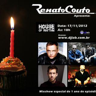 House Of Rhythm - 17/11/2012
