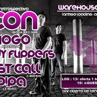 P!PA @ Ticon (14 anos de carreira) Lisboa // The Warehouse Lisbon