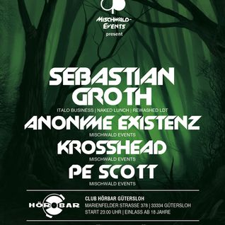 05.04.13 The art of Dark Techno Phase II @ Club-Hörbar by Mischwald-Events gast Sebastian Groth