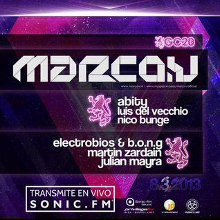 Marco V - Live @ Gatecrasher, Privilege (Buenos Aires) - 08.03.2013