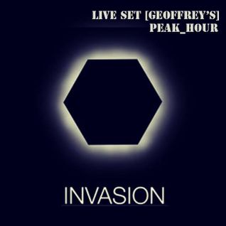 Invasion - Iced Monkey Live Set (Geoffrey's Royal Orchid, Peak_Hour_10.07.2015)