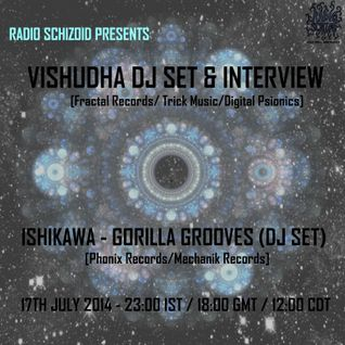 Dj Vishudha [Fractal Records/Trick Music/Digital Psionics] - Dj Set on Radio Schizoid July 2014