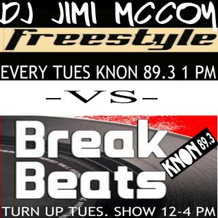 JIMI VS FREESTYLE VS BREAK JULY 5TH 2016 KNON 89.3 TURN UP TUESDAY SHOW